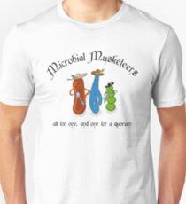 Microbial Musketeers Unisex T-Shirt