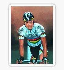 Cadel Evans painting Sticker