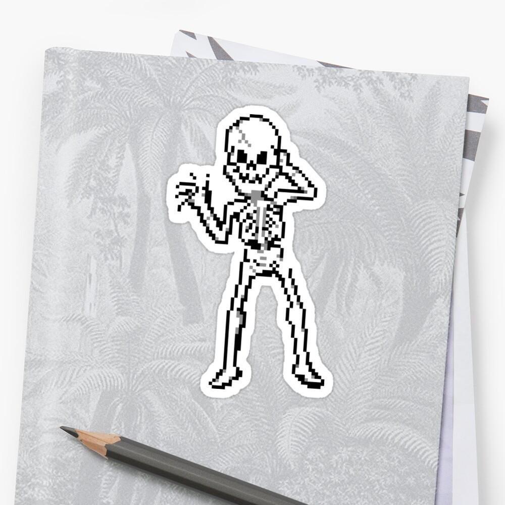 Pixel Skeleton by SaradaBoru