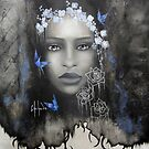 Blue bride by Chehade