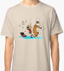 Calvin and Hobbes Music  Classic T-Shirt