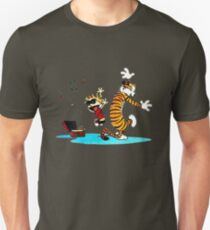 Calvin and Hobbes Music  Unisex T-Shirt