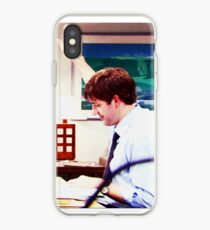 Vinilo o funda para iPhone Jim y Pam Casos a juego - Jim