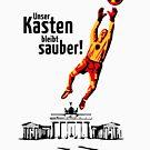 Unser Kasten bleibt sauber! (Football Germany) by MrFaulbaum