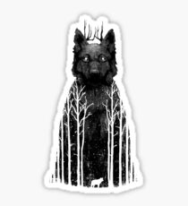 Wolftree Sticker