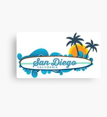 San Diego - California. Canvas Print