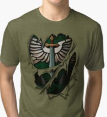 Dark Angels Armor Tri-blend T-Shirt