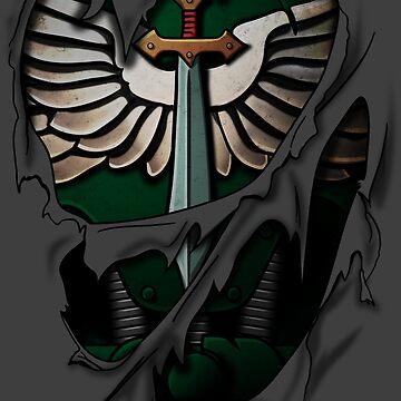 Dark Angels Armor by heavyplasma
