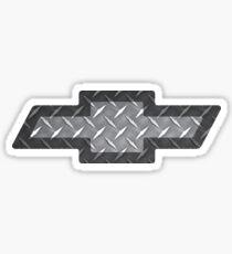 Chevy Diamond Plate Sticker