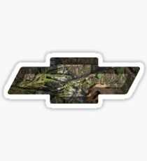 Chevy Mossy Oak Sticker