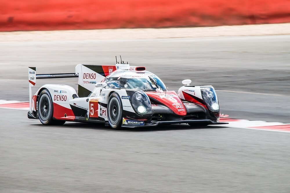 Toyota Gazoo Racing No 5 by Willie Jackson