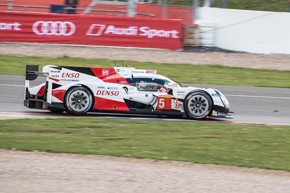 Toyota Gazoo Racing No 5 by Willie Jackson