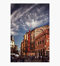 Verona's Colourful Market  Photographic Print