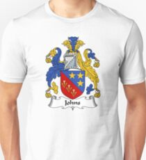 Johns Coat of Arms / Johns Family Crest T-Shirt