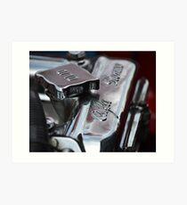 1967 Alfa Romeo GTV Engine Art Print