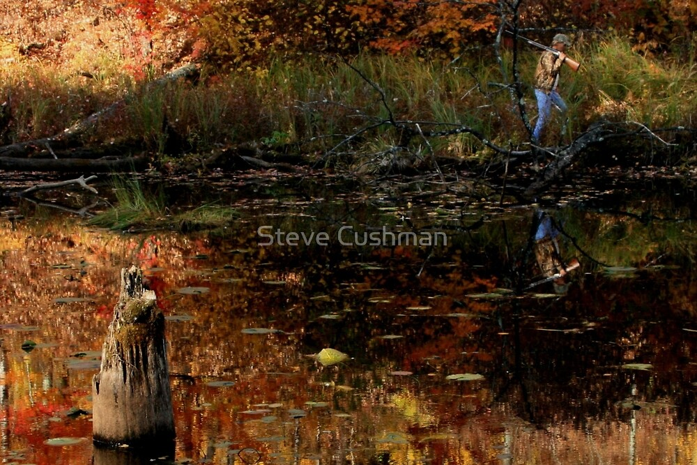 Minnesota Duck Hunting in October by Cushman