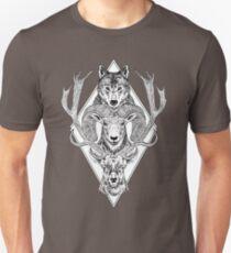 Wolf Ram Hart T-Shirt