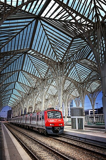 Gare do Oriente Lisbon by CarolJapp