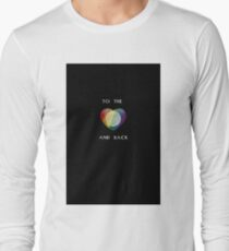To the Moon Pride Heart Long Sleeve T-Shirt