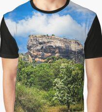 Sigiriya Rock & Cow Graphic T-Shirt
