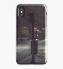 A Rainy Night In Lisbon. iPhone Case