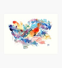 Magical Forest  Art Print