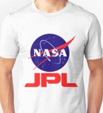 NASA & JPL zusammen Slim Fit T-Shirt