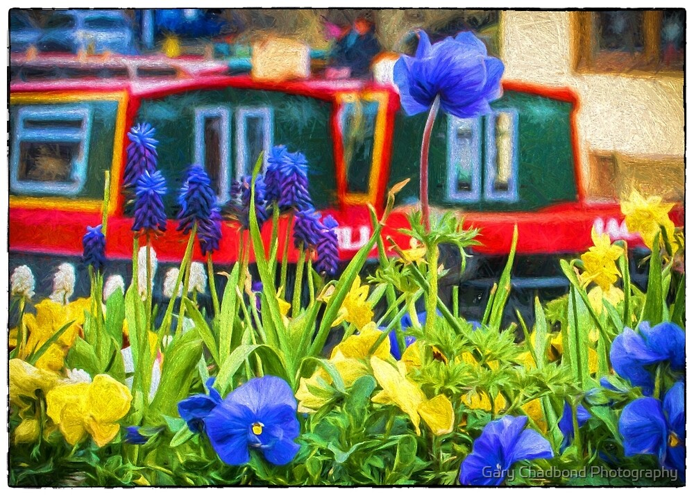 Canalside Bloom by Gary Chadond