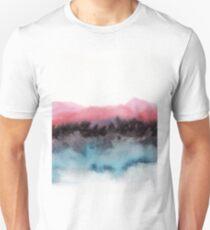 Watercolor abstract landscape 10 Unisex T-Shirt