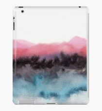 Watercolor abstract landscape 10 iPad Case/Skin