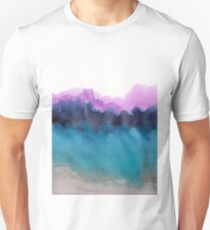 Watercolor abstract landscape 13 Unisex T-Shirt