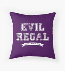 Once Upon a Time - Evil Regal Throw Pillow