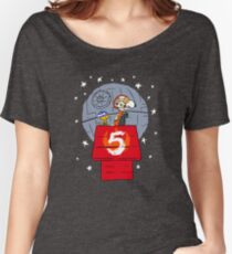 Peanut Going to Mars Women's Relaxed Fit T-Shirt
