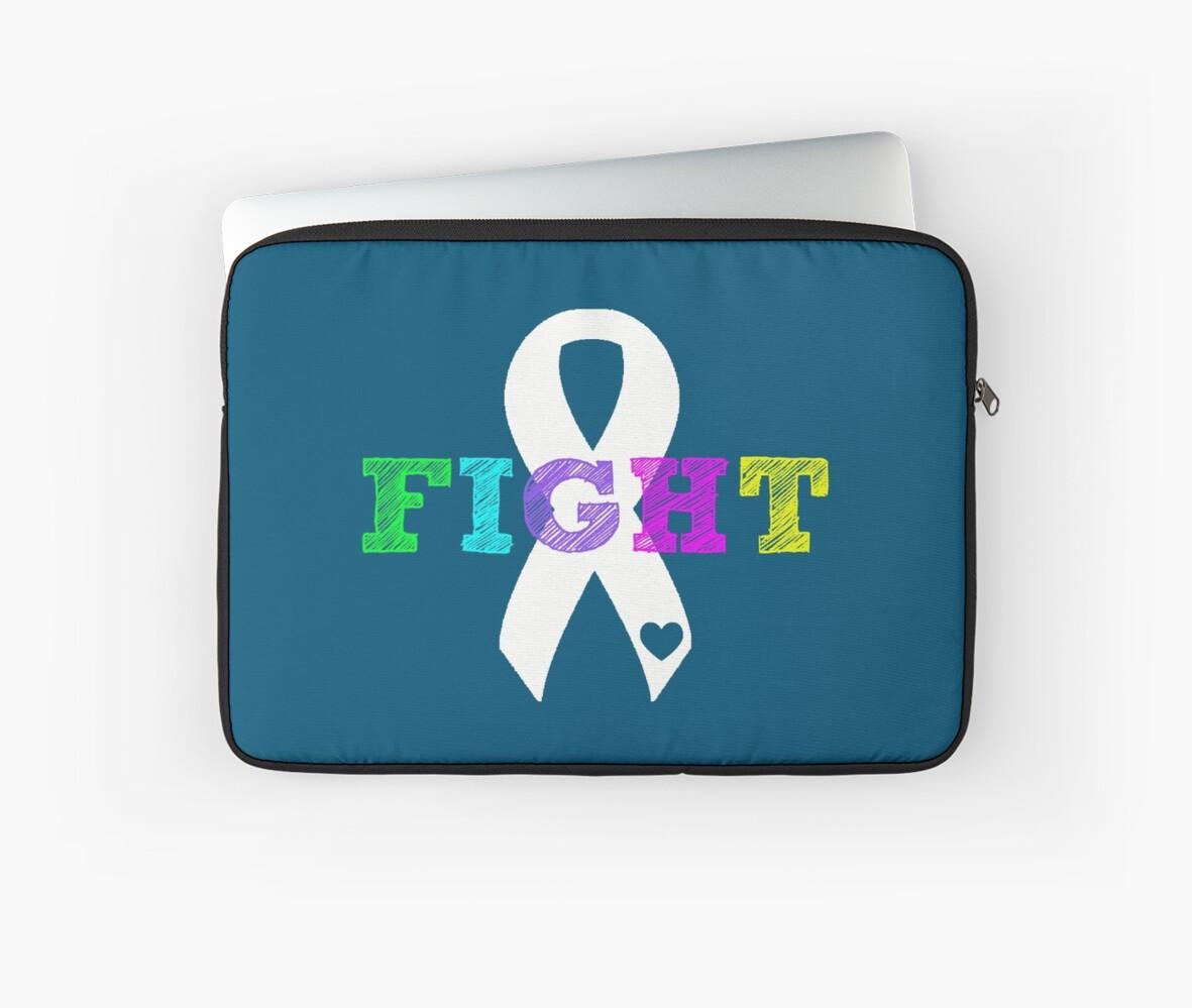 Fight Ribbon by Nisa Katz