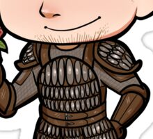 Dragon Age -- Alistair Chibi with Rose Sticker