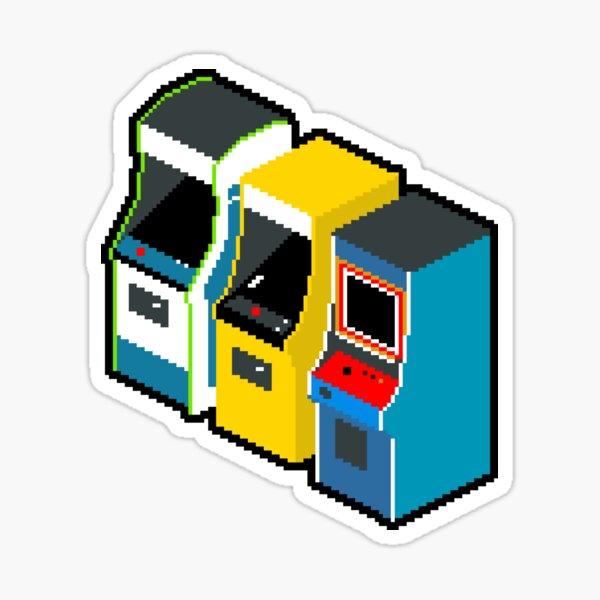 Arcade 80er Jahre Sticker