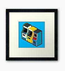 Arcade 80s Framed Print