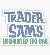 Tiki Bar Logo Sticker