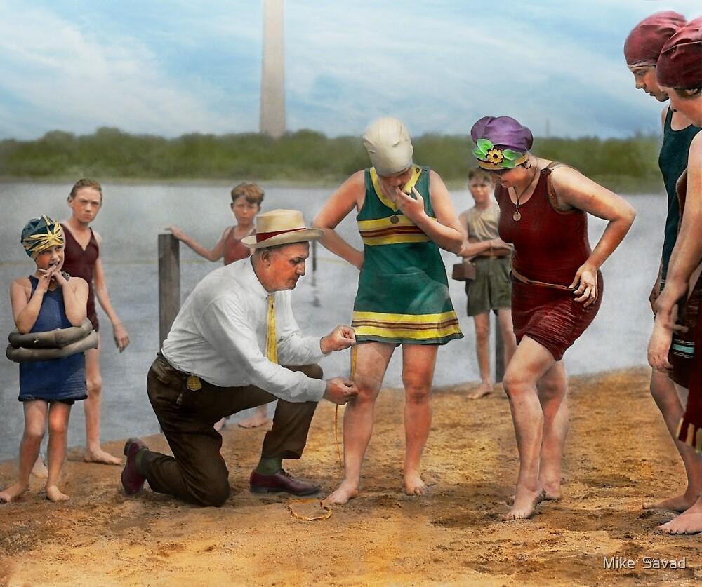 Beach - Cop a feel 1922 by Michael Savad