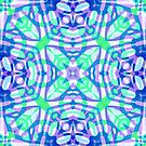 Fractal Art Stained Glass  by MEDUSA GraphicART