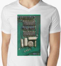 Circuit - recycling old electronics Men's V-Neck T-Shirt