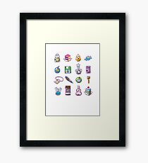 RPG Item Inventory Framed Print