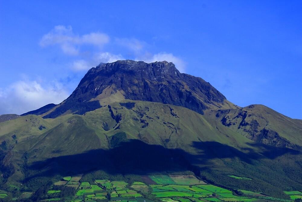 Landscape of Mount Imbabura by rhamm