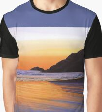 Earth Sunrise Sea Painting Graphic T-Shirt