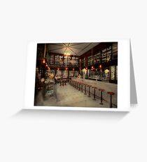Pharmacy - Bertrams ghosts 1909 Greeting Card