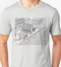 Pier 3 Baltimore National Aquarium at Maryland Inner Harbor Unisex T-Shirt