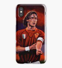 Francesco Totti painting iPhone Case/Skin