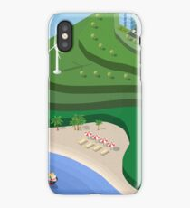 Beach Sea isometric  iPhone Case/Skin