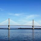 Ravenel Bridge, Charleston SC by Darlene Lankford Honeycutt