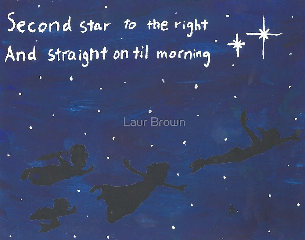 Second Star to the Right by Lauren Brown